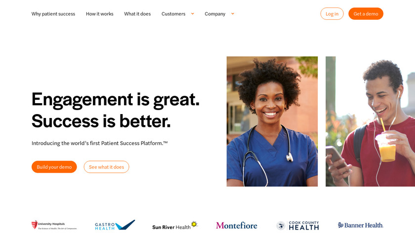 Luma Health Landing Page