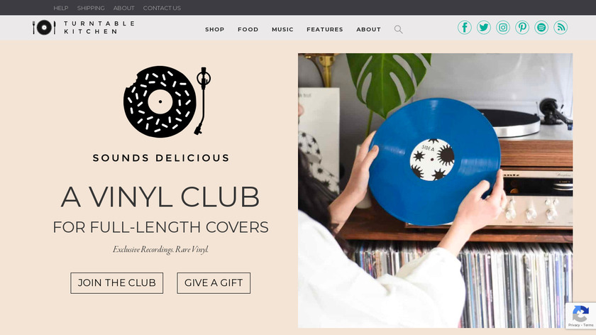 SOUNDS DELICIOUS Landing Page