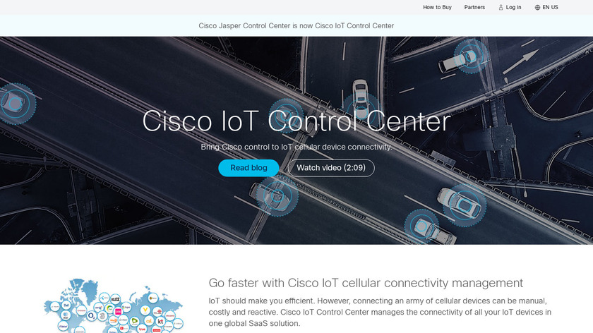 Cisco Jasper Landing Page