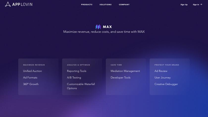 MoPub Landing Page