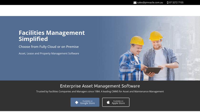 Pinnacle Enterprise Landing Page