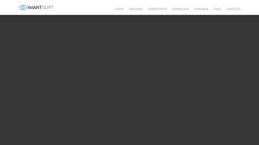 IwantSoft Free Keylogger Landing Page