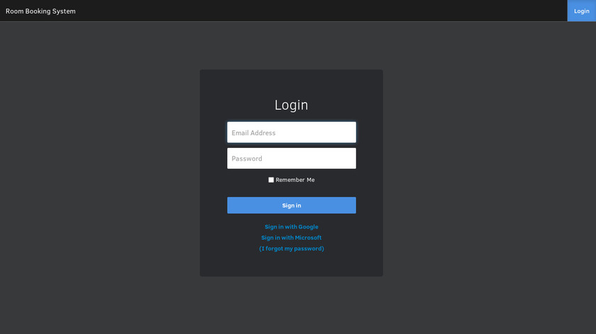 Get A Room Landing Page