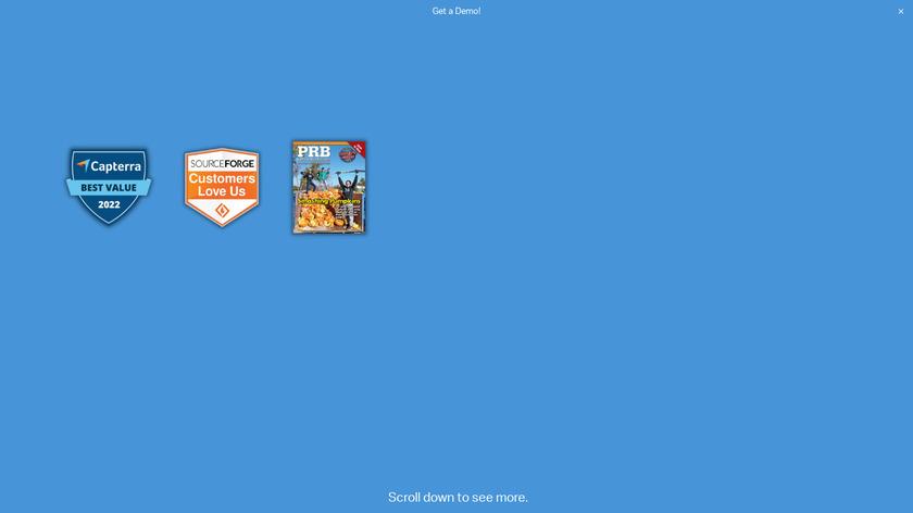 SportsMan SQL Landing Page