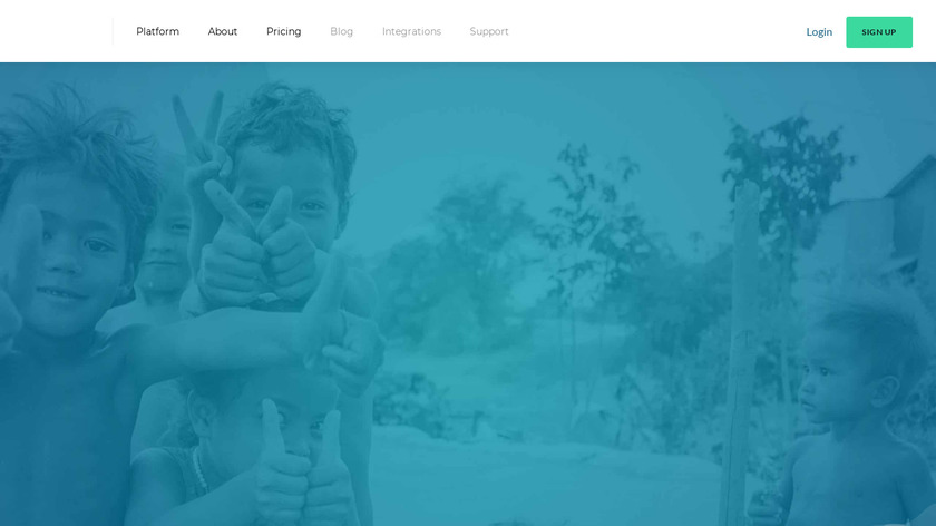 donate.ly Landing Page