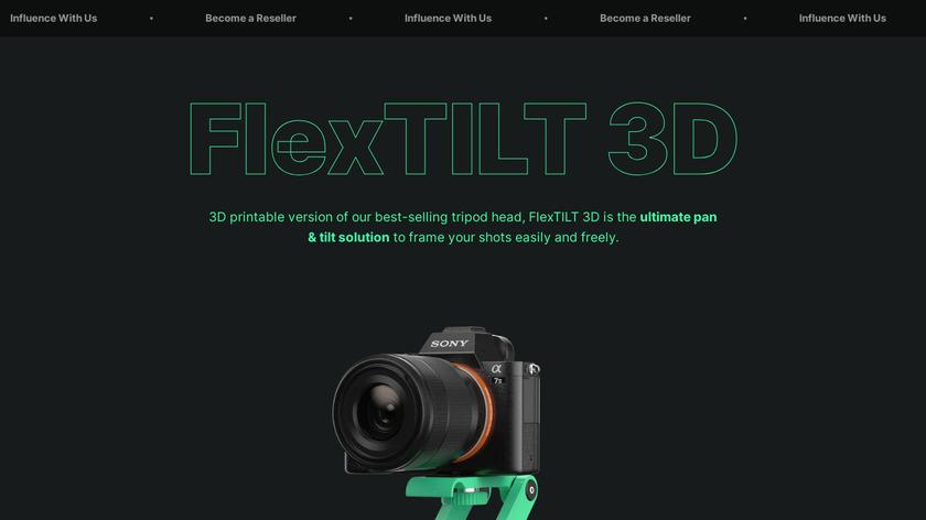 FlexTILT Head 3D Landing Page
