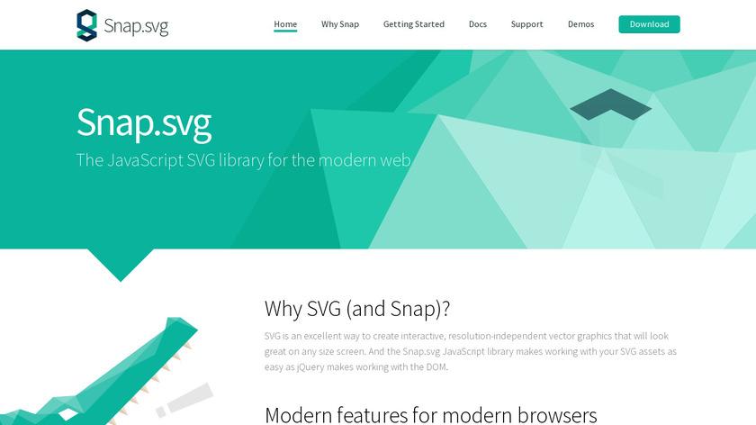 Snap.svg Landing Page