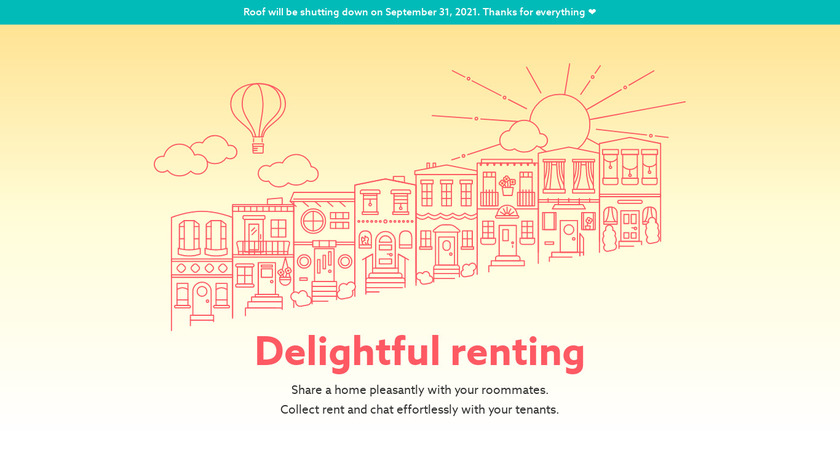 Roof Landing Page