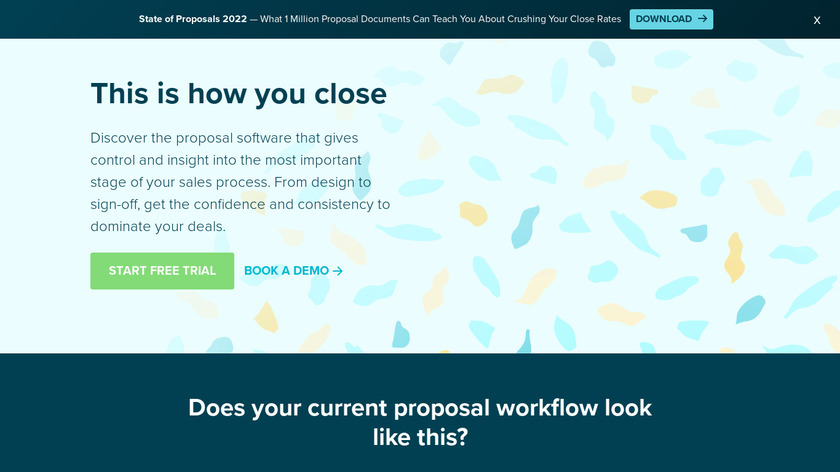 Proposify Landing Page