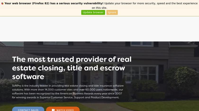 ProForm Landing Page