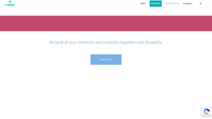 Skrappify Landing Page