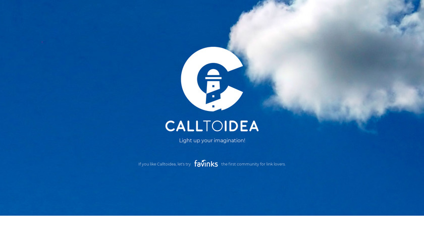 Call to Idea Landing Page