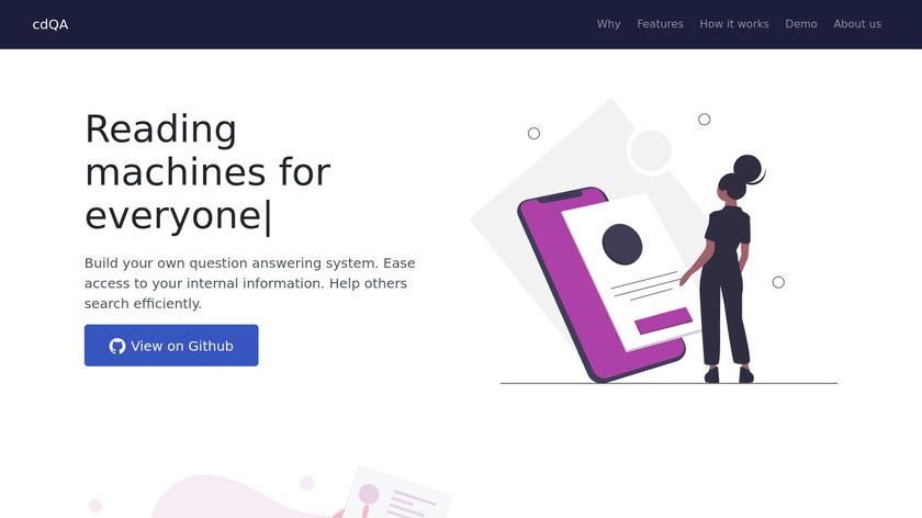 cdQA Landing Page