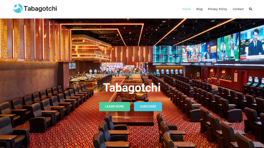Tabagotchi Landing Page