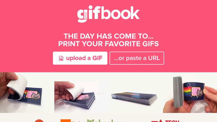 GifBook Landing Page