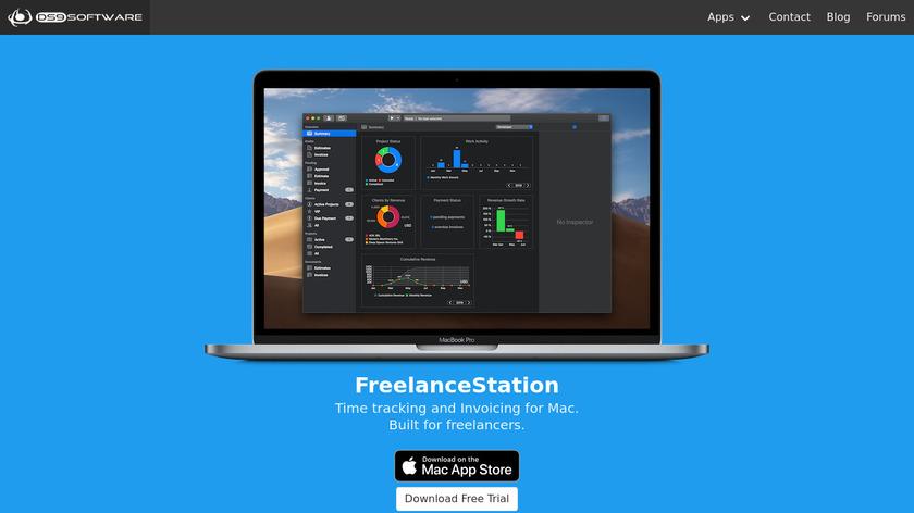 FreelanceStation Landing Page