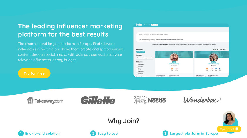 Join Landing Page