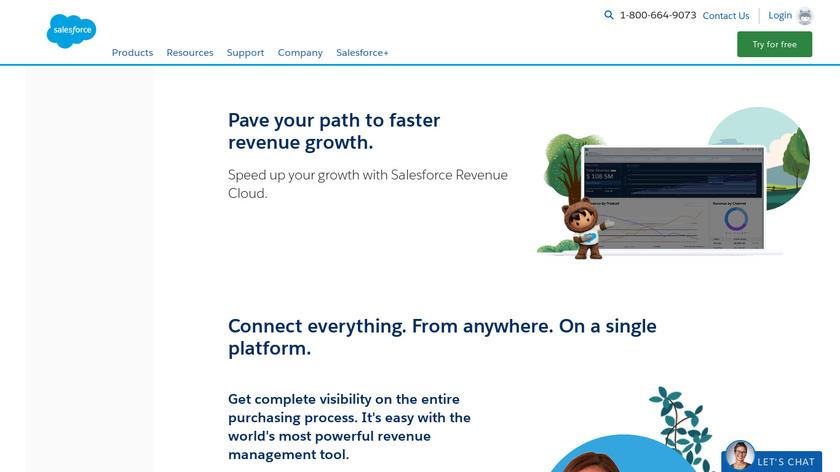 Salesforce Quote-to-Cash Landing Page