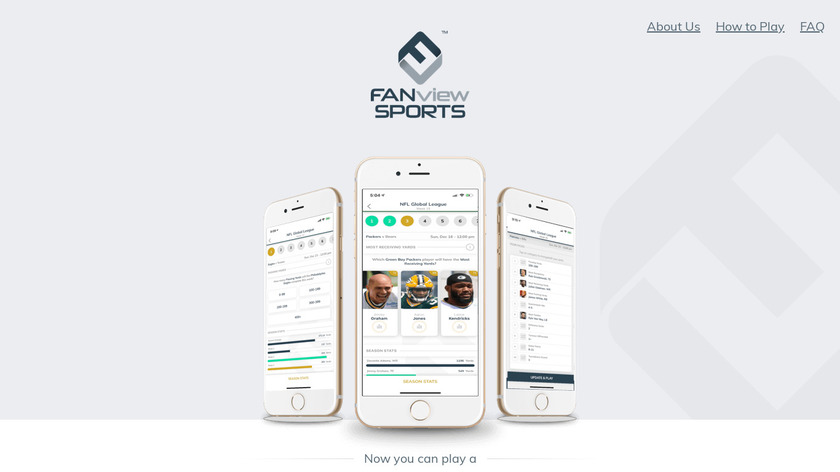 FANview Sports Landing Page