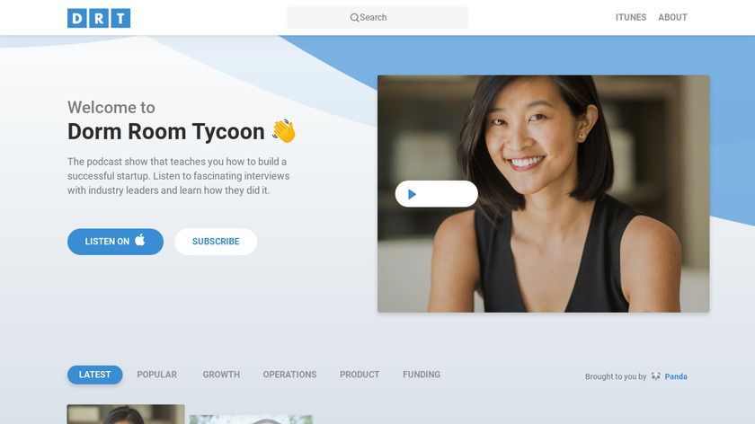 Dorm Room Tycoon Landing Page