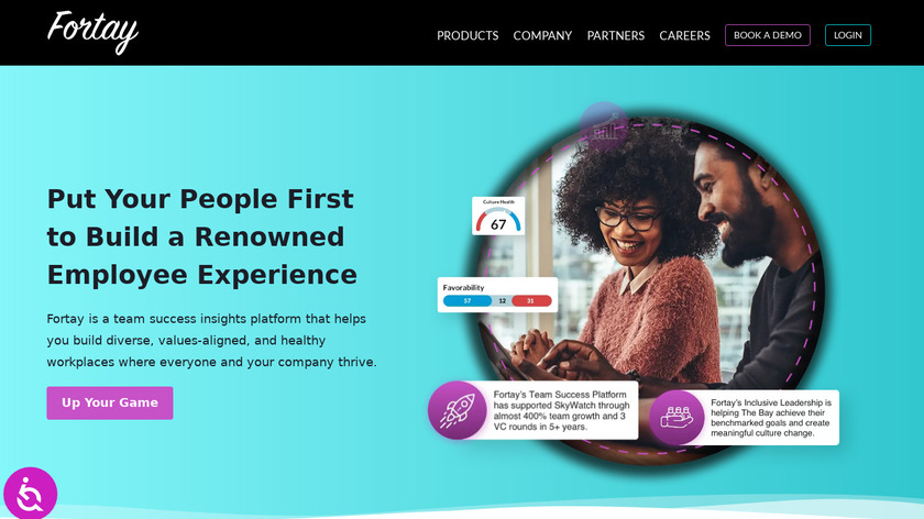 Fortay Landing Page