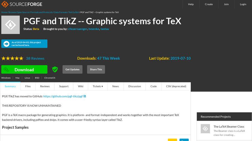 PGF and TikZ Landing Page