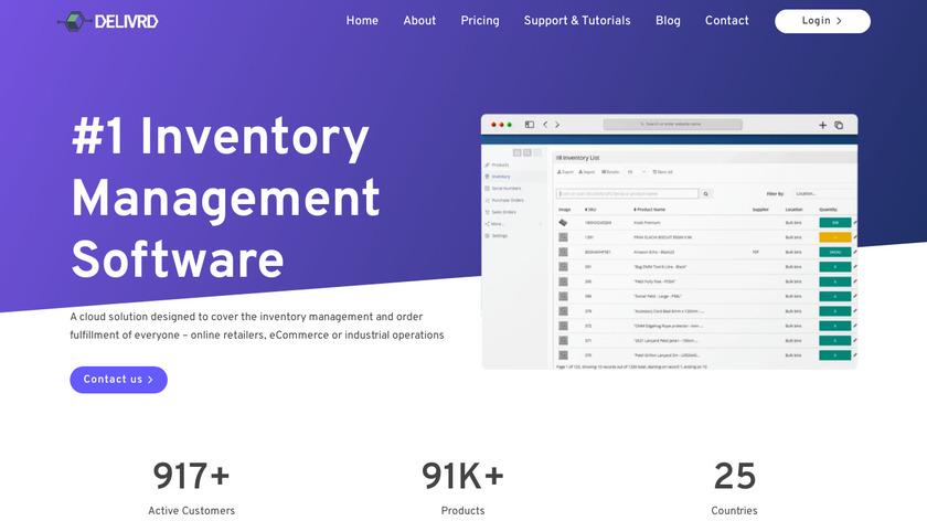 Delivrd Landing Page