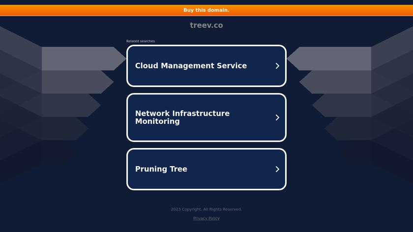 treev Landing Page