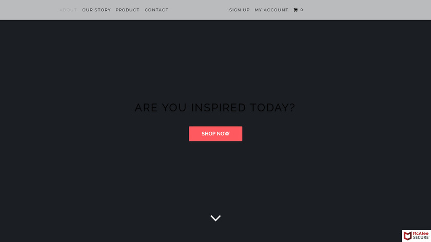 Custom Design Your Day Planner Landing Page