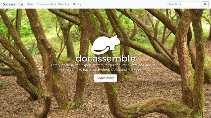 docassemble Landing Page