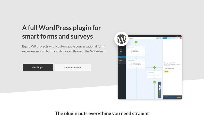 Tripetto for WordPress Landing Page