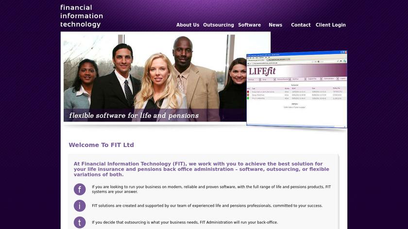 LIFEfit Landing Page