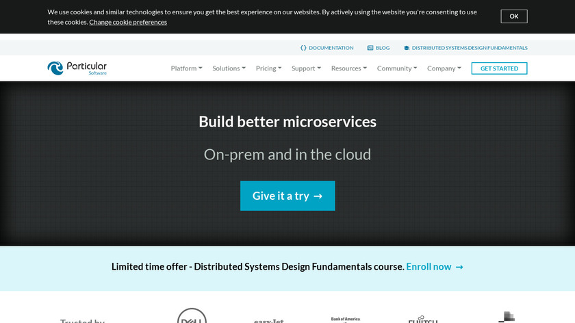 NServiceBus Landing Page
