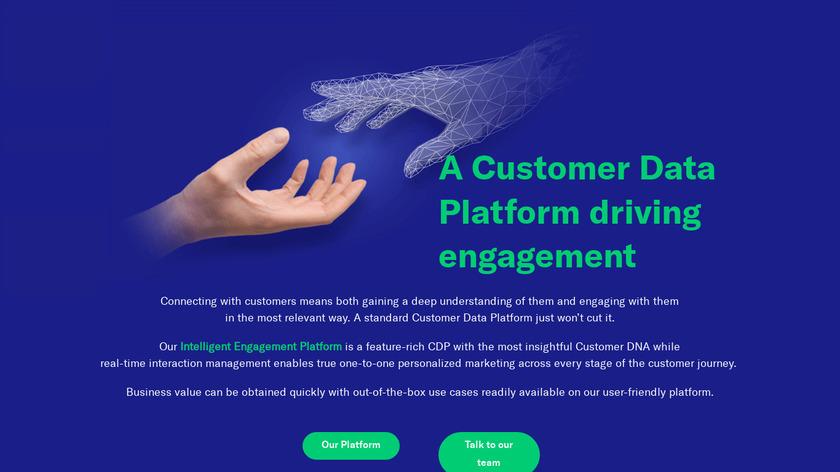 NGData Landing Page