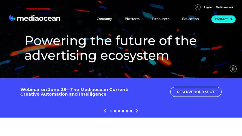 Mediaocean Landing Page