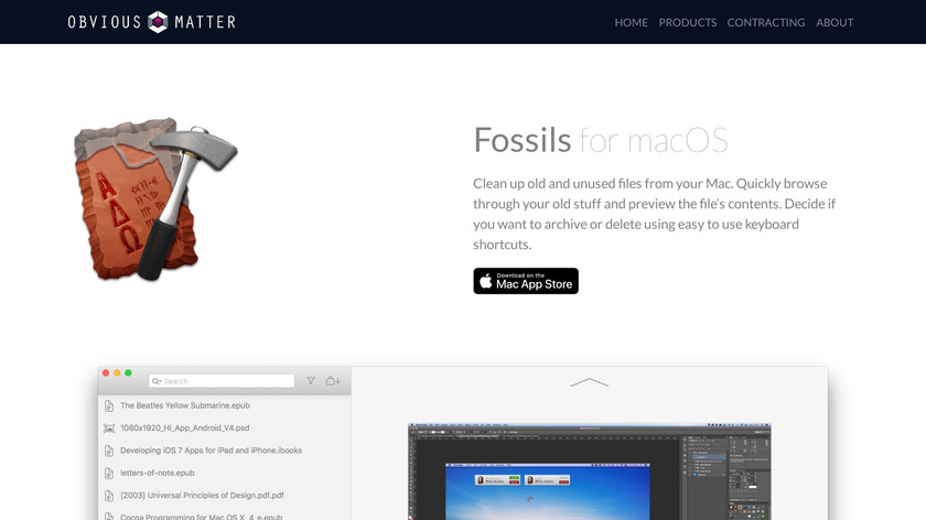 Fossils Landing Page