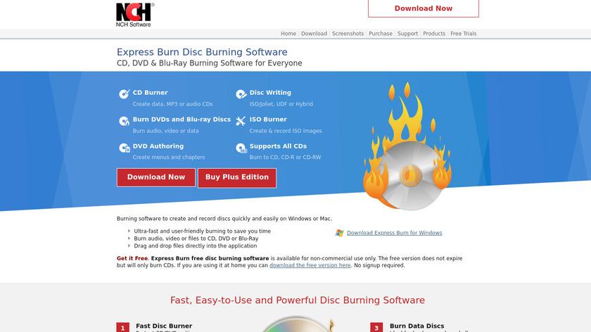 Express Burn Landing Page