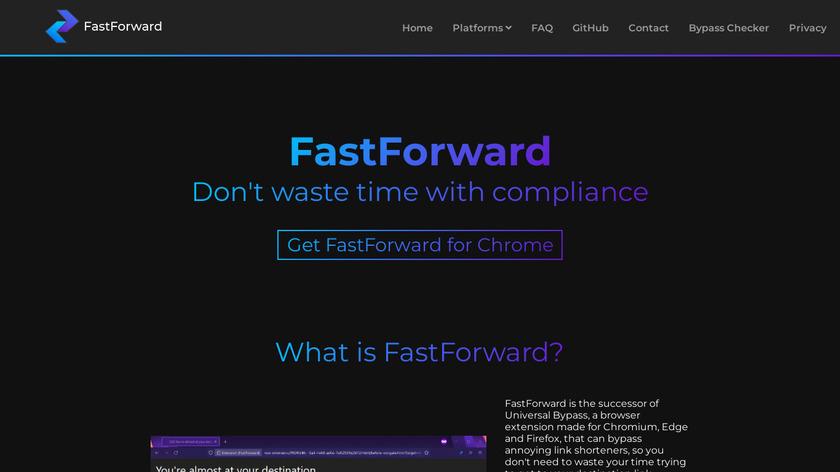 Universal Bypass Landing Page