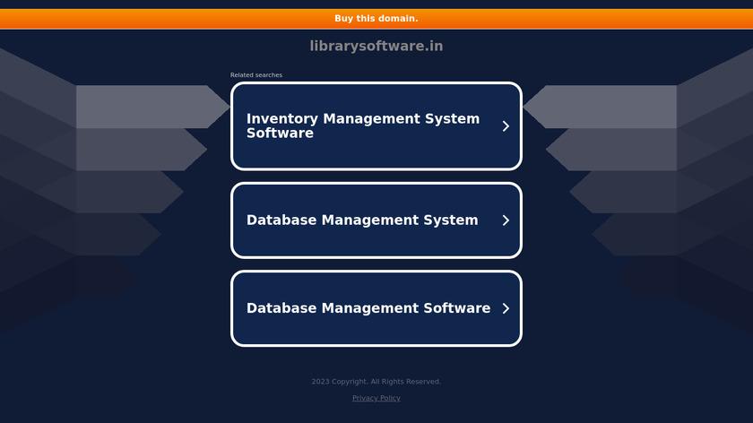 LIBRARIAN Landing Page