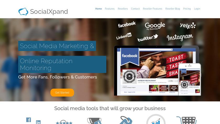 SocialXpand Landing Page