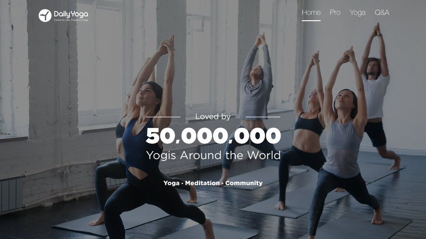 Daily Yoga Landing Page
