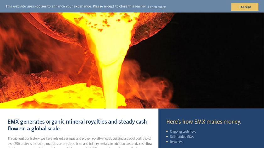 emX Landing Page