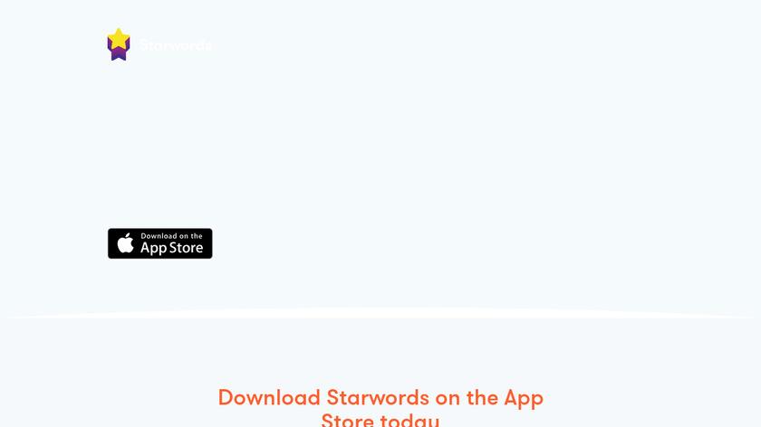 Starwords Landing Page