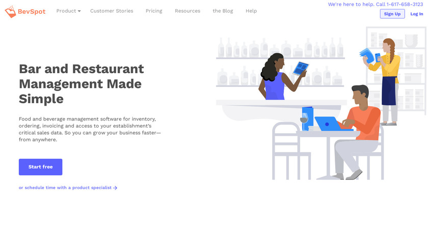 BevSpot Landing Page
