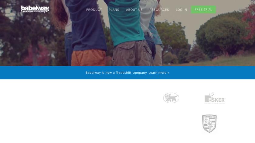 Babelway Landing Page