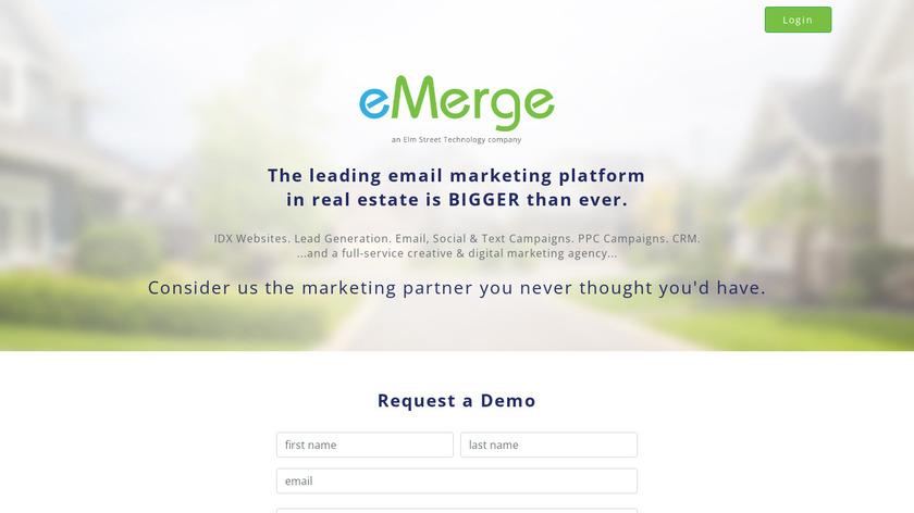 eMerge Landing Page