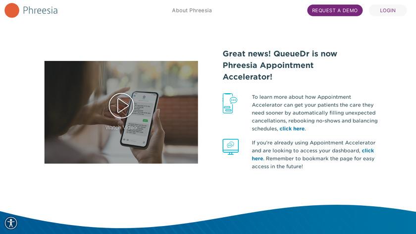 QueueDr Landing Page