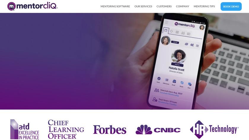 MentorcliQ Landing Page