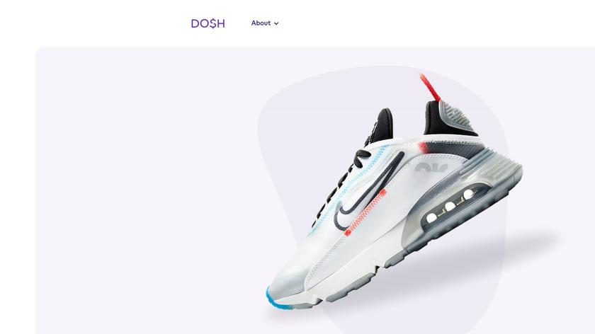 Dosh Landing Page