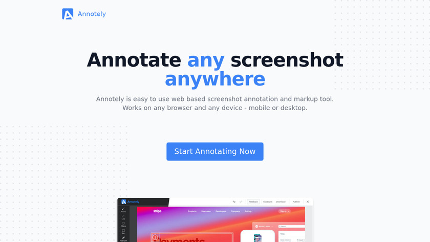 Szoter Landing Page